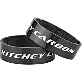 Ritchey WCS Distanziale Carbonio 10mm 2 pezzi, nero